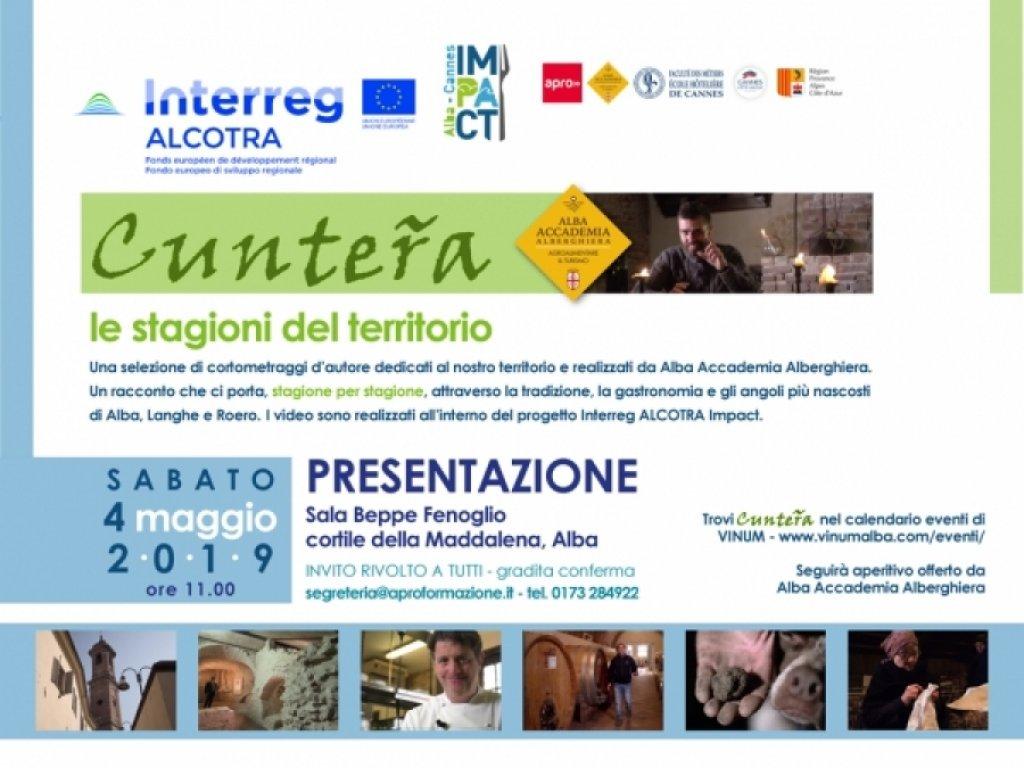 """""""Cunteřa"""": la presentazione ufficiale dei video territoriali di IMPACT su Alba Langhe e Roero."""
