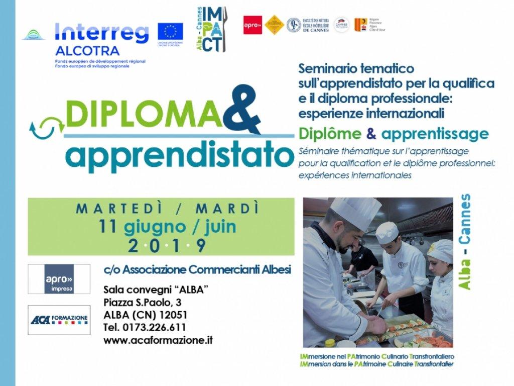 Seminario tematico sull'apprendistato per la qualifica e il diploma professionale