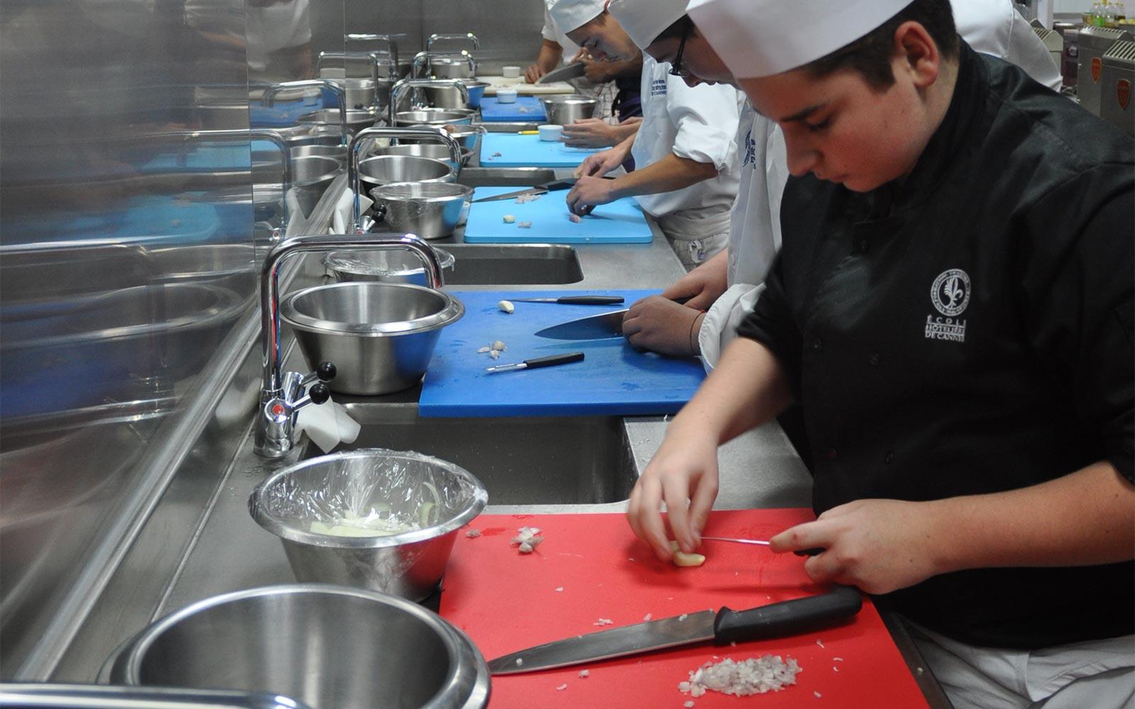 Corso cucina Cannes